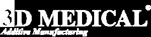 logo 3D Medical blanc